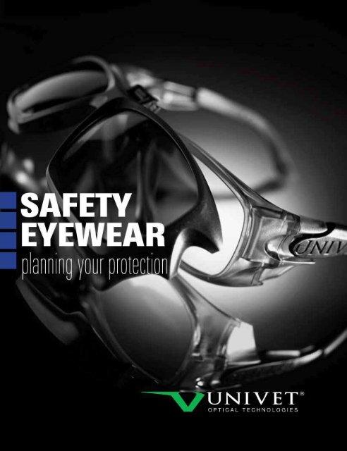 5X4.13.10.00 Univet 5X4 Italian Style Safety Glasses Clear Anti Glare FM Lens