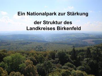 Vortrag von Landrat Dr. Schneider