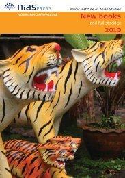 New books 2010 - NIAS Press
