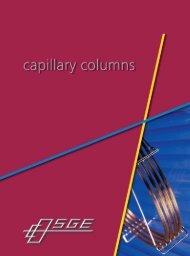 Capillary Columns - Teknolab AS