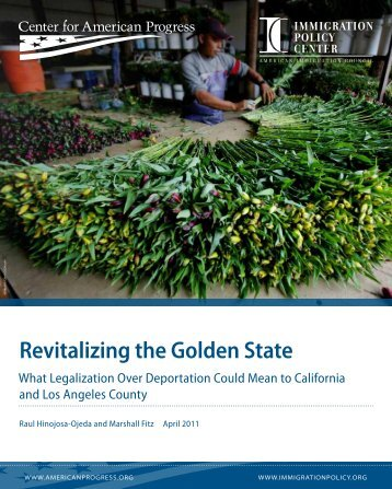 Revitalizing the Golden State - UCLA Institute for Research on Labor ...