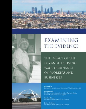Examining the Evidence - UCLA Institute for Research on Labor and ...