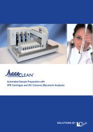 Automated Sample Preparation with SPE Cartridges and ... - Labicom