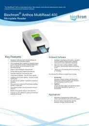Biochrom Anthos MultiRead 400