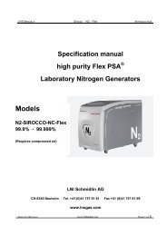 Models N2-SIROCCO-NC-Flex 99.9% - 99.999%
