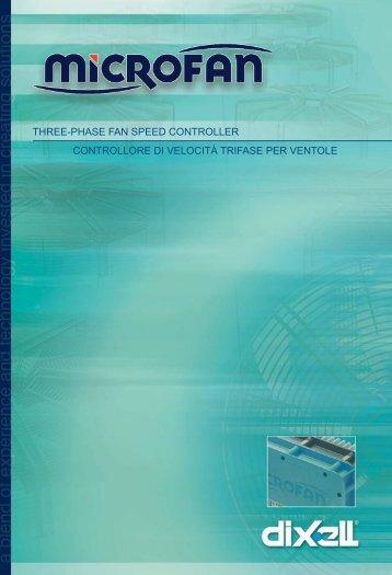 three-phase fan speed controller controllore di ... - Acr-asia.com
