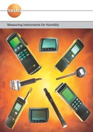 Measuring Instruments for Humdity ... - Acr-asia.com