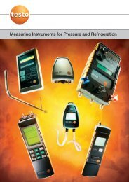 Measuring Instruments for Pressure and ... - Acr-asia.com