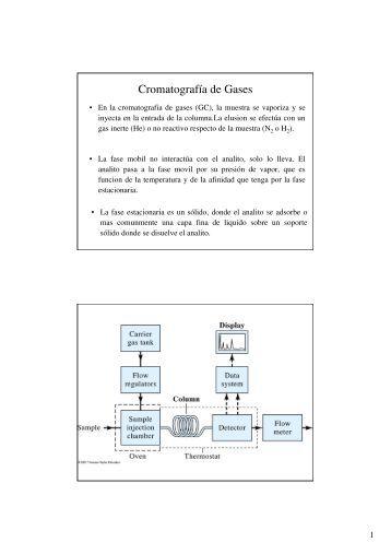 Cromatografías - 3 (CG)