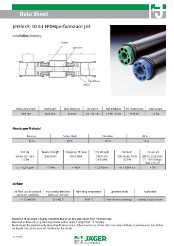 Download product data sheet - Jäger Umwelt-Technik GmbH & Co. KG