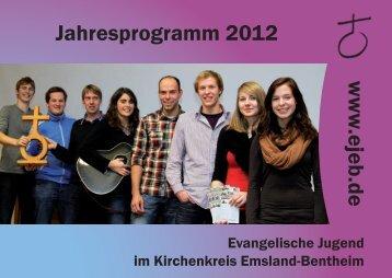 Jahresprogramm 2012 - ejeb.de