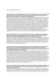 Interview zum CDU-Bundesparteitag mit der dapd ... - Julia Klöckner