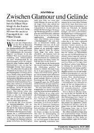 Von Sven Astheimer Frankfurter Allgemeine, 03.01 ... - Julia Klöckner
