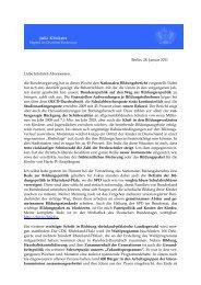 Berlin, 28. Januar 2011 Liebe Infobrief-Abonnenten ... - Julia Klöckner