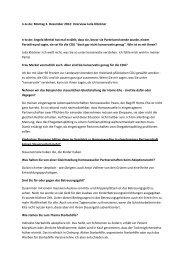 Interview zum CDU-Bundesparteitag mit Hubertus ... - Julia Klöckner