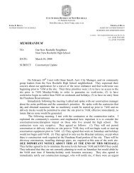 Community Letter in PDF format - City School District of New Rochelle