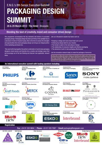 Please click to view event programme - European Networking Group ...