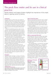 The peak flow meter and its use in clinical practice - Africa Health