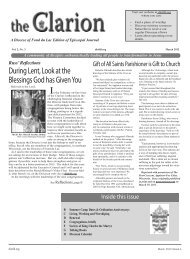 A community of disciples enthusiastically ... - Diocese of Fond du Lac