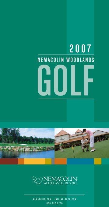 07 golf broc.indd - Nemacolin Woodlands Resort