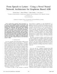 From Speech to Letters --- Using a Novel Neural ... - ResearchGate