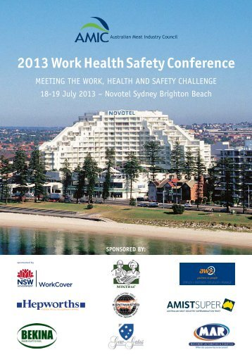 2013 Work Health Safety Conference