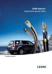 LEONI Adascar®, Automotive Special Cables