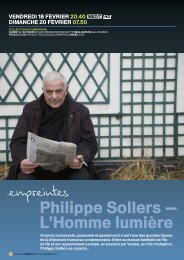 Philippe Sollers — L'homme lumière
