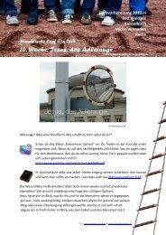 16. Woche: Jesus, das Adlerauge - Jugendseelsorge Waldsee