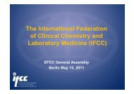 IFCC report (Laitinen).pdf - European Federation of Clinical ...