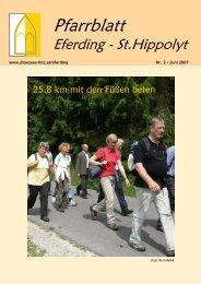 Pfarrblatt 06_07 - Pfarre Eferding