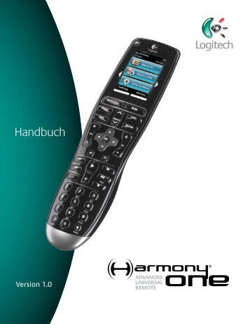 User Manual Handbuch - Harmony Remote