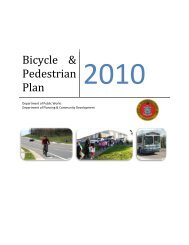 Bicycle & Pedestrian Plan - City of Harrisonburg