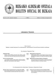 bizkaiko aldizkari ofiziala boletin oficial de bizkaia - Licencias de ...