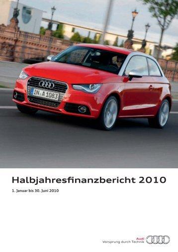 Halbjahresfinanzbericht 2010