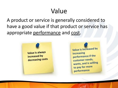 Operational Excellence - Lean Applied