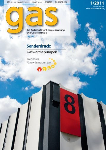 Sonderdruck Gaswärmepumpe - Erdgas