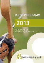Jahresprogramm 2013 als PDF herunterladen
