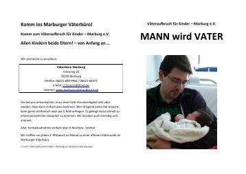 MANN wird VATER - Väteraufbruch-Marburg