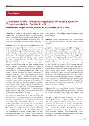 """""""Cochemer Praxis"""" – ein Handlungsmodell zur interdisziplinären ..."""
