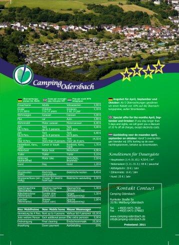 Odersbach Camping - Camping Odersbach