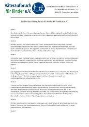 Ansicht(pdf) - Väteraufbruch für Kinder