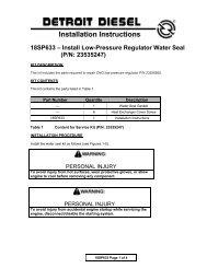 18SP633 – Install Low-Pressure Regulator Water Seal (P/N ... - ddcsn
