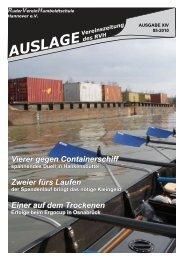 Auslage 01 2010 - RuderVerein Humboldtschule Hannover eV