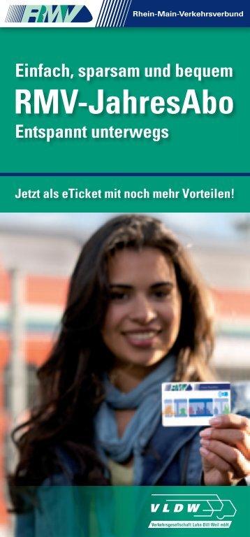 RMV-JahresAbo - Verkehrsgesellschaft Lahn-Dill-Weil mbH