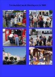 2009 Vereinsfahrt nach Oberbayern - der Obersuhler Blasmusik