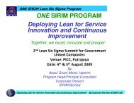 Deploying Lean for Service Innovation and ... - Lean Applied