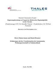 Deutsch-Ukrainisches Projekt ... - Brunner, Daniel