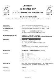 Ausschreibung SC 2006 deutsch_V02 - Badminton Club Adliswil