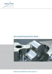 PDF: Electropolishing Stainless Steels - Euro Inox